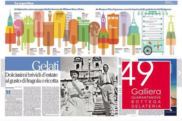 10 migliori gelaterie d'Italia su La Repubblica